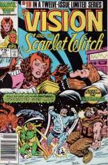 Vision and the Scarlet Witch (1985-1986) #10 Variant A: Newsstand Edition