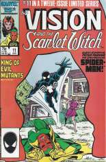 Vision and the Scarlet Witch (1985-1986) #11 Variant B: Direct Edition