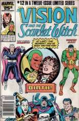 Vision and the Scarlet Witch (1985-1986) #12 Variant A: Newsstand Edition