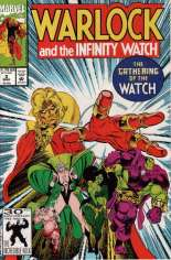 Warlock and the Infinity Watch (1992-1995) #2 Variant B: Direct Edition