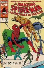 Amazing Spider-Man: Adventures in Reading (1990) #1 Variant F: Bon Marche Variant; Jungle Book Cover