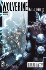Wolverine: The Best There Is (2011-2012) #5 Variant B: Thor Goes Hollywood Cover