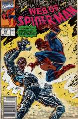Web of Spider-Man (1985-1995) #80 Variant A: Newsstand Edition
