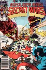 Marvel Super-Heroes Secret Wars (1984-1985) #9 Variant A: Newsstand Edition