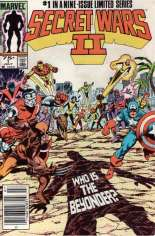 Secret Wars II (1985-1986) #1 Variant A: Newsstand Edition