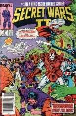 Secret Wars II (1985-1986) #5 Variant A: Newsstand Edition
