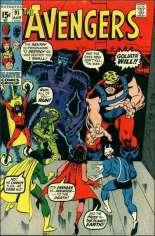 Avengers (1963-1996) #91 Variant A