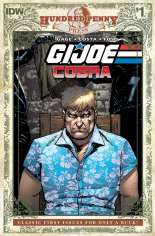 G.I. Joe: Cobra (2009) #1 Variant D: Hundred Penny Press Edition