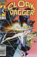 Cloak and Dagger (1985-1987) #6 Variant A: Newsstand Edition