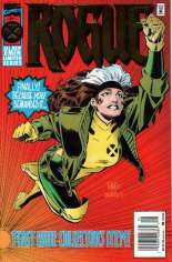 Rogue (1995) #1 Variant A: Newsstand Edition; Foil Enhanced Cover