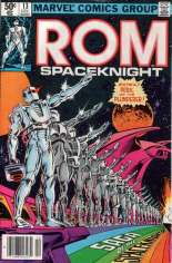 Rom (1979-1986) #13 Variant A: Newsstand Edition