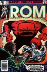 Rom (1979-1986) #14 Variant A: Newsstand Edition