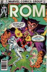 Rom (1979-1986) #19 Variant A: Newsstand Edition
