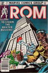 Rom (1979-1986) #23 Variant A: Newsstand Edition