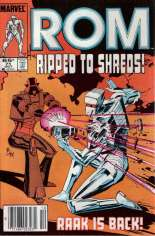 Rom (1979-1986) #71 Variant A: Newsstand Edition
