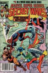 Marvel Super-Heroes Secret Wars (1984-1985) #3 Variant A: Newsstand Edition