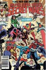 Marvel Super-Heroes Secret Wars (1984-1985) #5 Variant A: Newsstand Edition