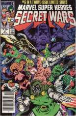 Marvel Super-Heroes Secret Wars (1984-1985) #6 Variant A: Newsstand Edition