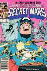 Marvel Super-Heroes Secret Wars (1984-1985) #7 Variant A: Newsstand Edition