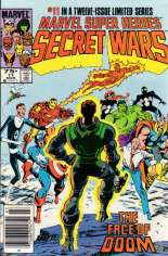 Marvel Super-Heroes Secret Wars (1984-1985) #11 Variant A: Newsstand Edition