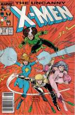 Uncanny X-Men (1963-2011) #218 Variant A: Newsstand Edition
