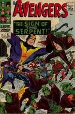 Avengers (1963-1996) #32 Variant B: UK Edition