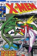 Uncanny X-Men (1963-2011) #61 Variant C: 1993 Marvel Vintage Pack Reprint