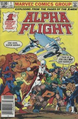 Alpha Flight (1983-1994) #1 Variant A: Newsstand Edition