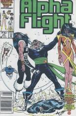 Alpha Flight (1983-1994) #37 Variant A: Newsstand Edition