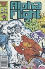 Alpha Flight (1983-1994) #38 Variant A: Newsstand Edition