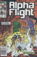 Alpha Flight (1983-1994) #24 Variant A: Newsstand Edition