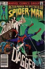 Spectacular Spider-Man (1976-1998) #64 Variant A: Newsstand Edition