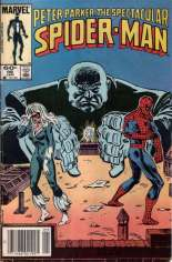 Spectacular Spider-Man (1976-1998) #98 Variant A: Newsstand Edition
