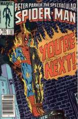 Spectacular Spider-Man (1976-1998) #103 Variant A: Newsstand Edition