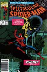 Spectacular Spider-Man (1976-1998) #178 Variant A: Newsstand Edition