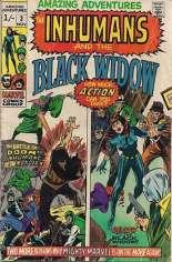 Amazing Adventures (1970-1976) #3 Variant B: UK Edition