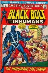 Amazing Adventures (1970-1976) #10 Variant B: UK Edition