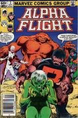 Alpha Flight (1983-1994) #2 Variant A: Newsstand Edition