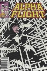 Alpha Flight (1983-1994) #3 Variant A: Newsstand Edition