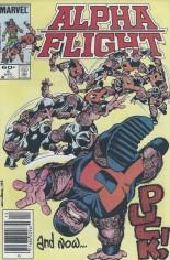 Alpha Flight (1983-1994) #5 Variant A: Newsstand Edition