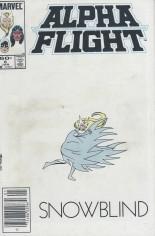 Alpha Flight (1983-1994) #6 Variant A: Newsstand Edition