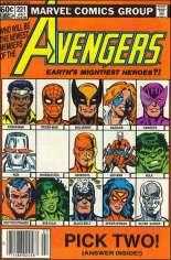 Avengers (1963-1996) #221 Variant A: Newsstand Edition