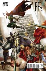 FF (2011-2012) #2 Variant C: Thor Goes Hollywood Cover