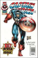 Captain America (1996-1997) #1 Variant A: Newsstand Edition