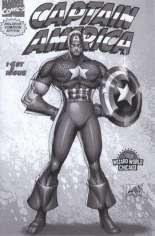 Captain America (1996-1997) #1 Variant H: Wizard World Chicago 2006 Exclusive Comicon Edition; Grey Cover