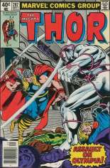 Thor (1966-1996) #287 Variant A: Newsstand Edition
