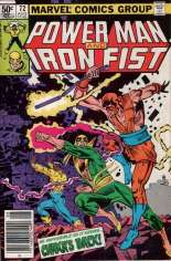 Power Man and Iron Fist (1978-1986) #72 Variant A: Newsstand Edition