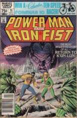 Power Man and Iron Fist (1978-1986) #75 Variant A: Newsstand Edition