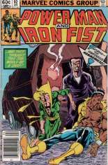 Power Man and Iron Fist (1978-1986) #92 Variant A: Newsstand Edition
