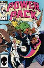Power Pack (1984-1991) #8 Variant B: Direct Edition